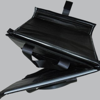 Black hardwall bag